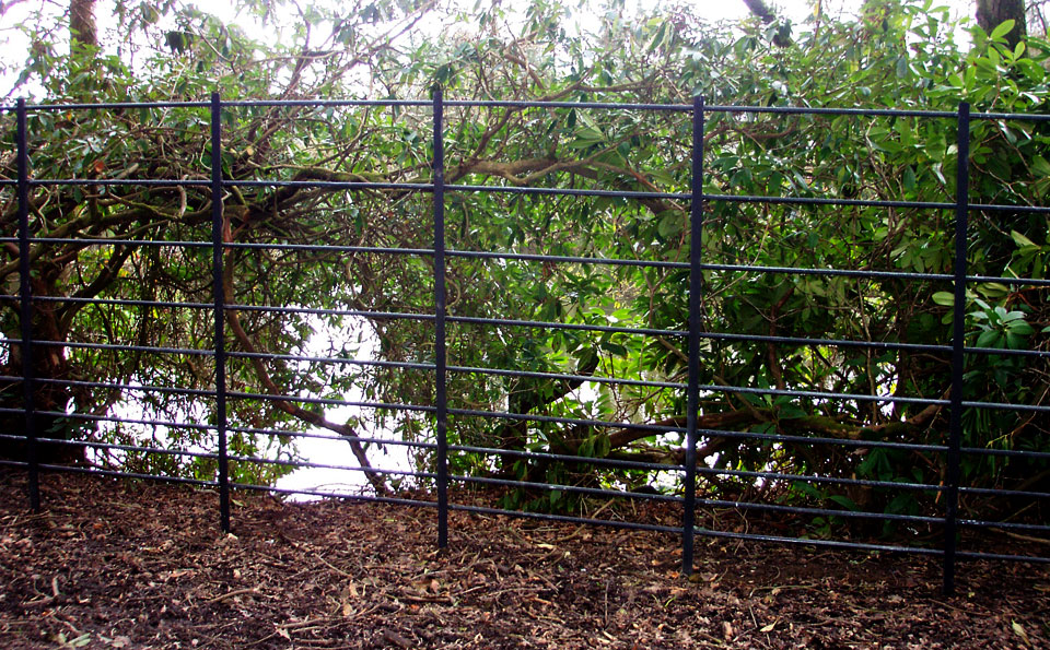 Traditional Wrought Iron Fencing For Parkland And Private